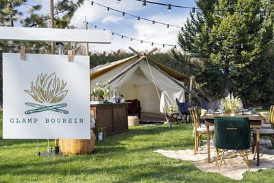 Boursin® Cheese Transforms One Lucky Fan's Backyard Into An Overnight Culinary Escape