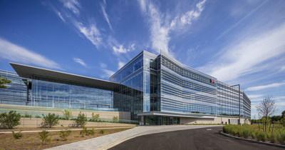 USGBC Honors LG's LEED Platinum Certified North America Headquarters (PRNewsfoto/LG Electronics USA)