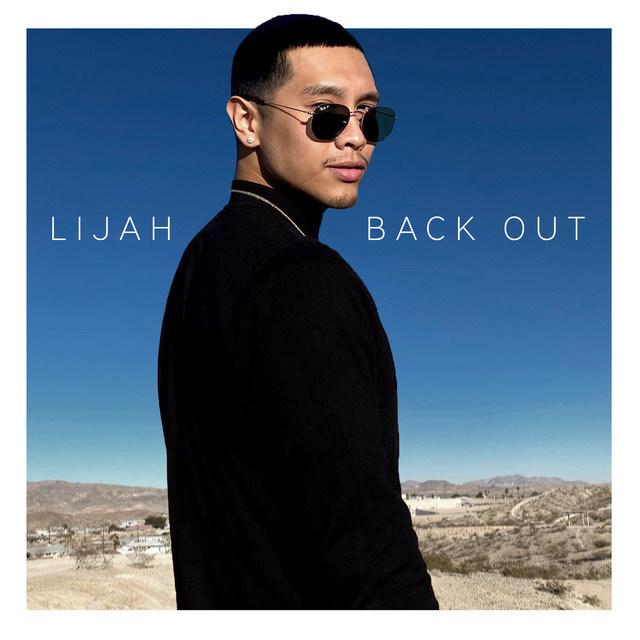 Arte de portada para el nuevo single de Lijah Lu, 'Back Out'