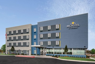 Microtel Inn & Suites by Wyndham Hot Springs, Arkansas, the first hotel to open with the Moda prototype that reduces footprint by Nearly 30 percent and delivers 70 percent rentable space