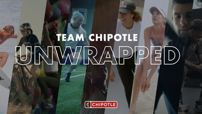 """Starting today, fans have the chance to eat like America's top athletes through new """"Team Chipotle"""" menu items. In addition, the brand worked with partner athletes to launch behind-the-scenes training content as part of its """"Unwrapped"""" series."""