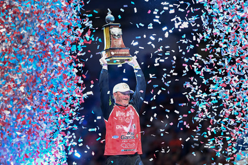 Hank Cherry, of Lincolnton, N.C., has won the 2021 Academy Sports + Outdoors Bassmaster Classic presented by Huk with a three-day total of 50 pounds, 15 ounces.