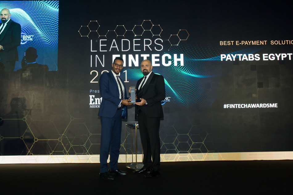 """PayTabs Egypt wins """"Best E-Payment Solution"""" at ..."""