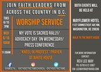 Faith Leaders From Across the Country Join Together in Washington D.C. This Week to Proclaim, 'My Vote is Sacred'