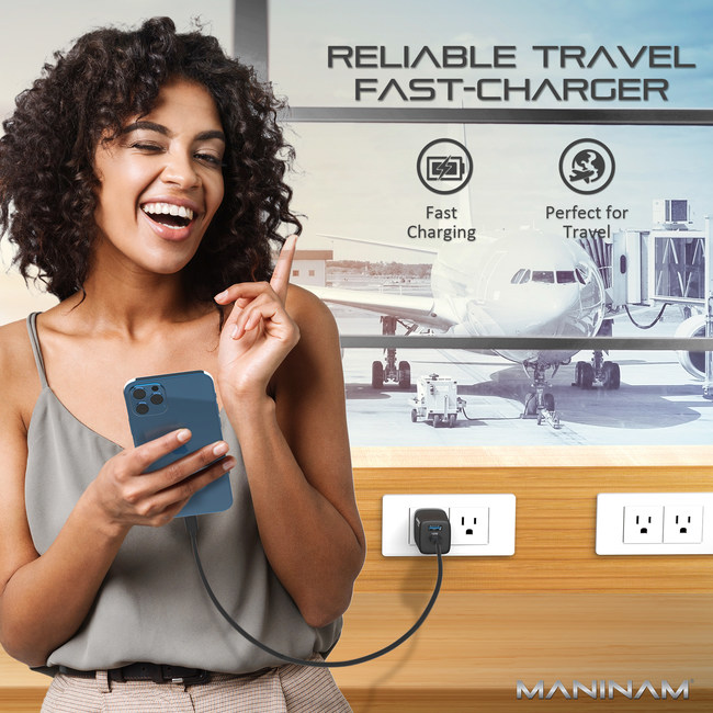 iPhone 12 Fast Charger - Compact - Travel Kit