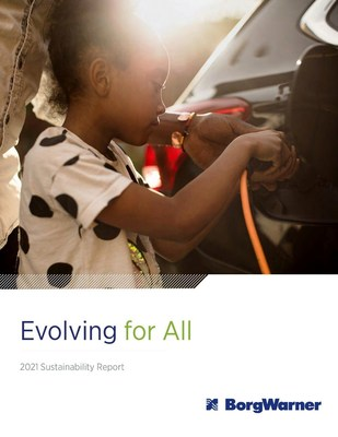 """To read the complete report, """"Evolving for All,"""" visit borgwarner.com."""
