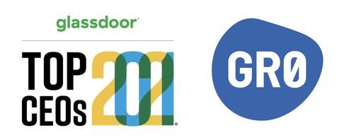 GR0 CEO Kevin Miller named a Glassdoor Top CEO in 2021.