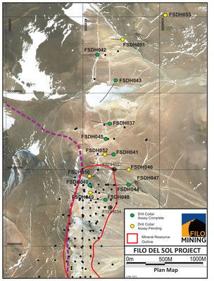 FIL Base Map Satellite Image (CNW Group/Filo Mining Corp.)