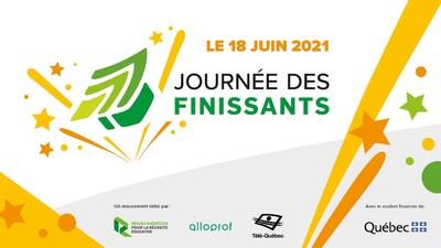 Logos du Réseau québécois pour la réussite éducative (RQRÉ), Alloprof et Télé-Québec (Groupe CNW/Réseau québécois pour la réussite éducative)