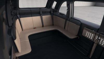 Canoo Lifestyle Vehicle Interior