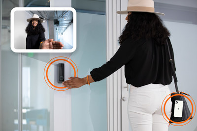 """Openpath's Pro Series Video Reader with Mobile and Touchless """"Wave to Unlock"""" Capabilities"""