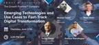 Frost & Sullivan Presents 3 Emerging Technologies and Use...