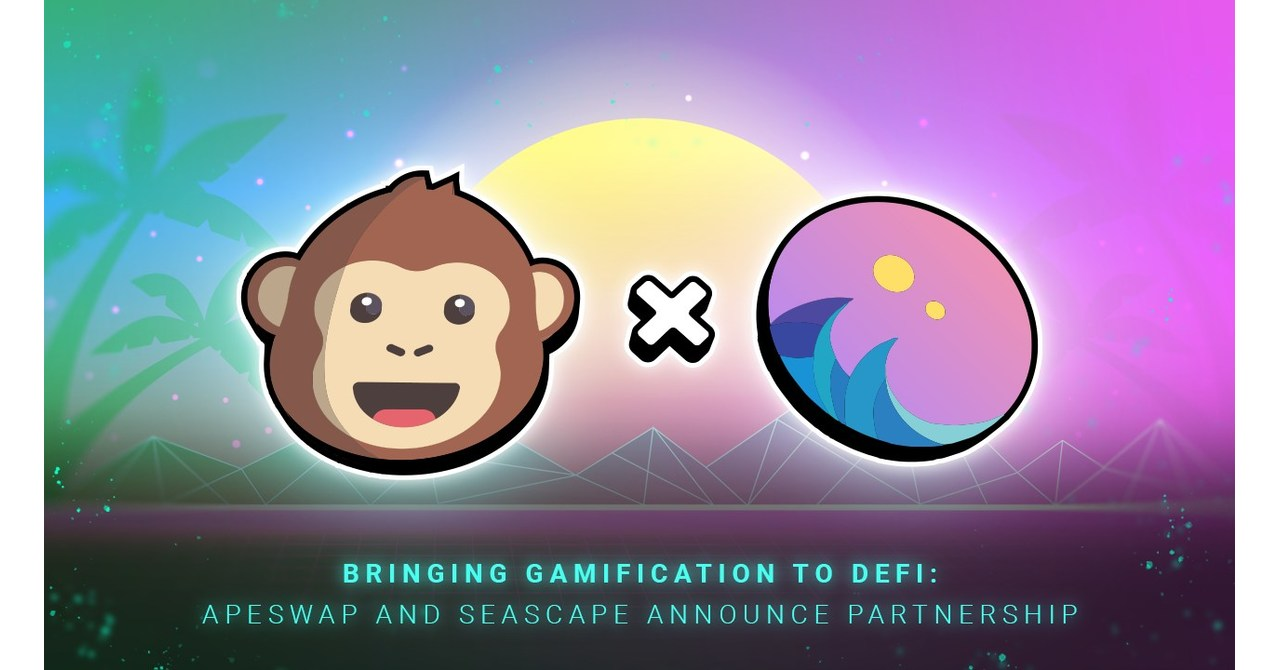 Bringing Gamification to DeFi: ApeSwap and Seascape Announce Partnership