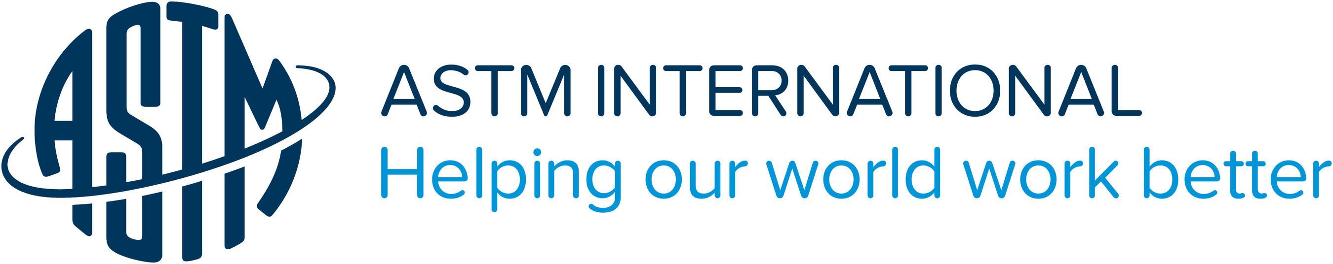 ASTM International Logo (PRNewsFoto/ASTM International) (PRNewsFoto/ASTM International)