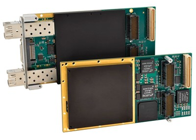 Two new Acromag XMC modules with a Xilinx Artix-7 or Kintex7 FPGA feature write-protected flash memory to prevent unwanted changes to configuration files.