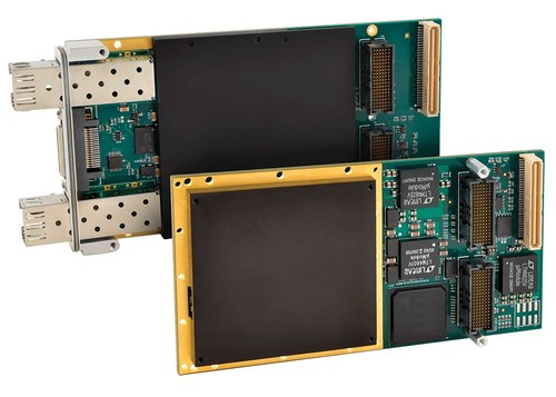 Two new Acromag XMC modules with a Xilinx Artix-7 or Kintex-7 FPGA feature write-protected flash memory to prevent unwanted changes to configuration files.
