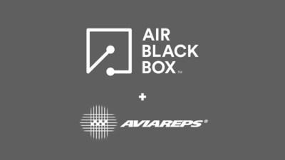 Air Black Box and AviaReps partnership logo