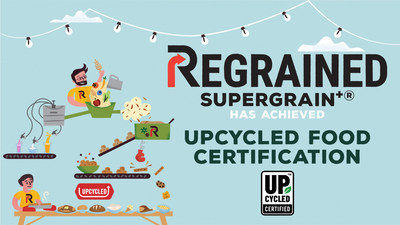 ReGrained SuperGrain+® is proud to be the first ingredient to obtain UFA certification
