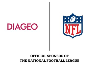 DIAGEO - OFFICIAL SPONSOR OF THE NATIONAL FOOTBALL LEAGUE