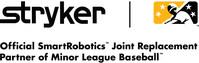 Stryker, the Official SmartRobotics™ Joint Replacement Partner of Minor League (PRNewsfoto/Stryker)