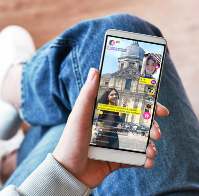 """With Ablo's newest feature, """"Live Guide Show"""", users can share their country and culture in real time. The streamer, or """"Live Guide"""" as the app calls them, becomes a virtual guide to the viewers. Ablo - Open Your World."""