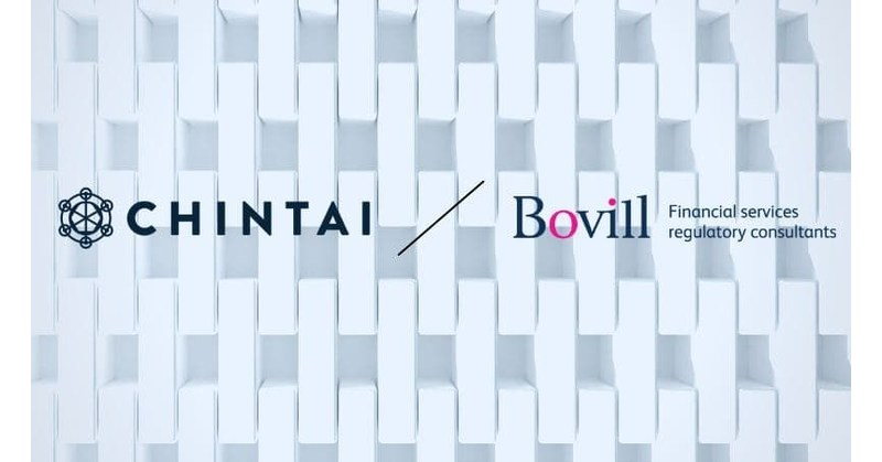 Bovill and Chintai partner to revolutionize handling of compliance obligations in capital markets
