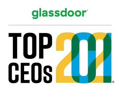 Glassdoor Top CEOs 2021 (PRNewsfoto/Glassdoor)