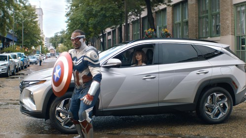 """Hyundai and Marvel Studios have come together to launch the next big phase of Hyundai's """"Question Everything"""" marketing blitz. This first-ever co-branded creative campaign introduces the all-new 2022 Tucson in exciting new spots featuring Marvel characters from four different Disney+ series."""