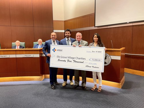 4Front makes $75,000 donation to the Village of Elk Grove (CNW Group/4Front)