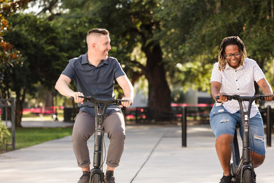 Commuters in New York, Los Angeles, Seattle, San Diego, and Mountain View can now rent e-bikes from Wheels through an exclusive discounted subscription model available to Edenred clients.
