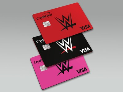 The WWE® Champion Credit Card from Credit One Bank®