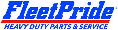 "FleetPride's refreshed logo features the new tagline ""Heavy Duty Parts & Service,"" replacing its previous descriptor ""Truck & Trailer Parts."" (PRNewsfoto/FleetPride, Inc.)"