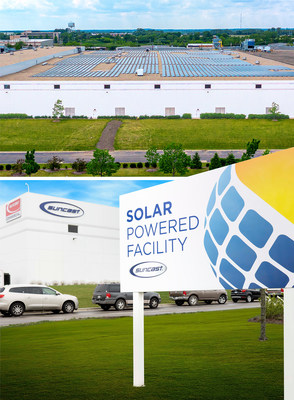 Suncast goes solar! A new solar array was recently added to a manufacturing facility at Suncast Corporation in Batavia, IL.