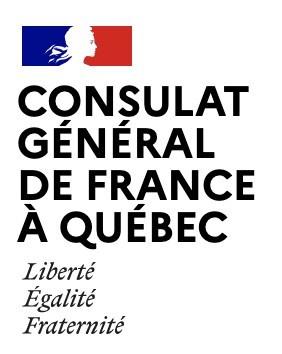 Logo : Consulat général de France (Groupe CNW/Institut National de la recherche scientifique (INRS))