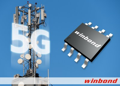 Winbond Unveils New 1.8V 512Mb SPI NOR flash for 5G and Other High-End Server Applications