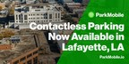 Lafayette, Louisiana Partners with ParkMobile to Offer...