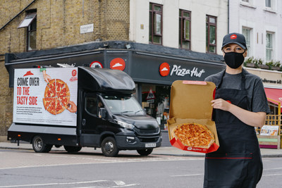 For today only, 17th June, Pizza Hut Delivery invites rivals to come to the tasty side by offering free pizza to them across the Nation!