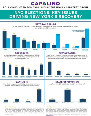 Capalino Releases New Poll about NYC Mayoral Election and Optimism for New York's Future
