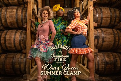 Jack Daniel's Tennessee Fire Teams Up With Top Drag Queens For Glamping-Inspired Digital Content Series.