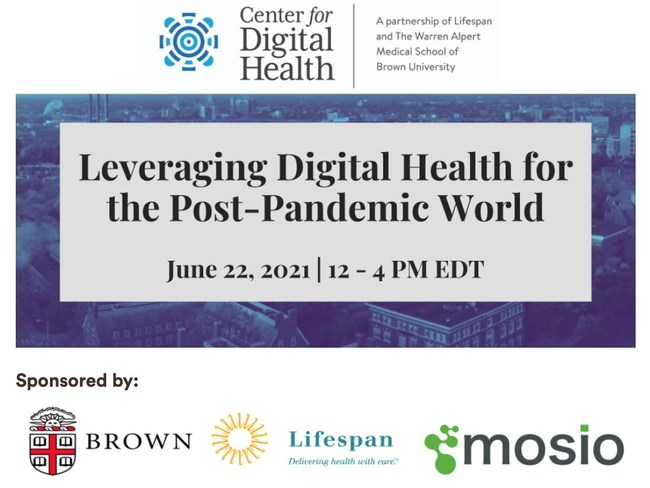 The Brown-Lifespan Center for Digital Health annual conference.