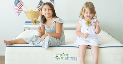 Save up to $200 on certified organic, safe & non-toxic mattresses for the entire family this July 4th with code: FREEDOM.