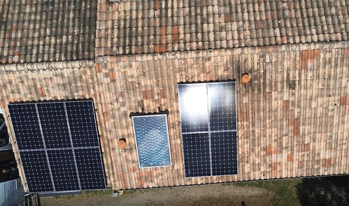 Courant Naturel's Maxeon 5 AC-based residential solar system.