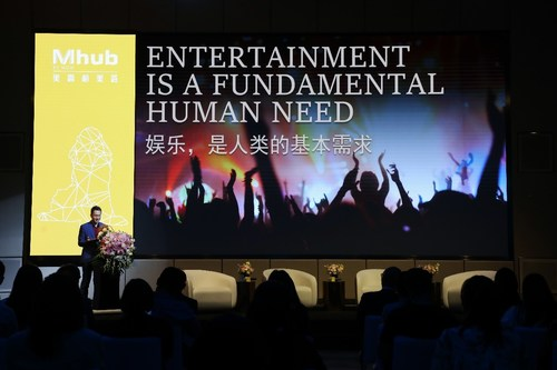 Dr. Yaning Liu, Director and Executive Vice President of Diaoyutai MGM Hospitality announced the global launch of Mhub by MGM Hotel Brand