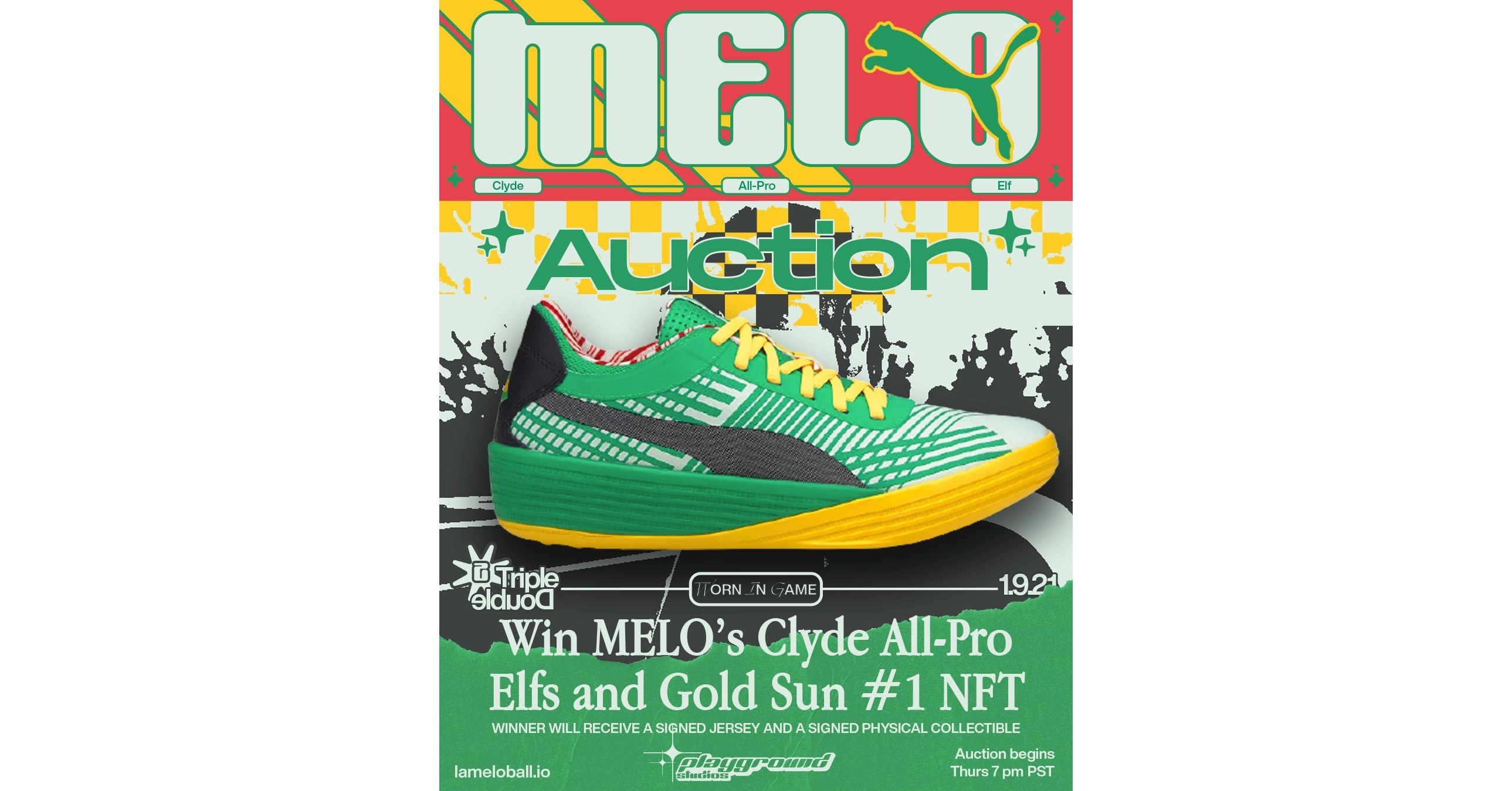 NBA Rookie of the Year: LaMelo Ball to auction off autographed triple-double shoes tied to #1 'GOLD SUN' NFT