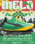 Recrue de l'année dans la NBA : LaMelo Ball met aux enchères des chaussures autographiées « triple-double » liées au jeton non fongible (NFT) « GOLD SUN » no 1