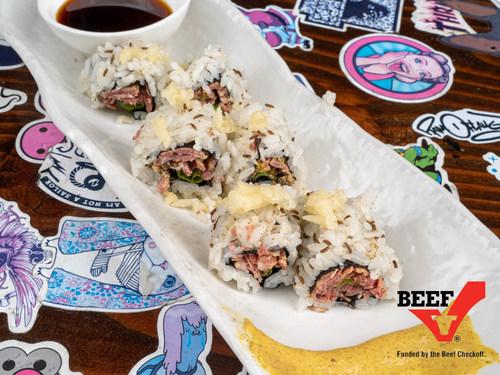 Beefshi debuting at Moonrise Izakaya, an intimate Japanese gastropub from celebrity sushi chef David Bouhadana