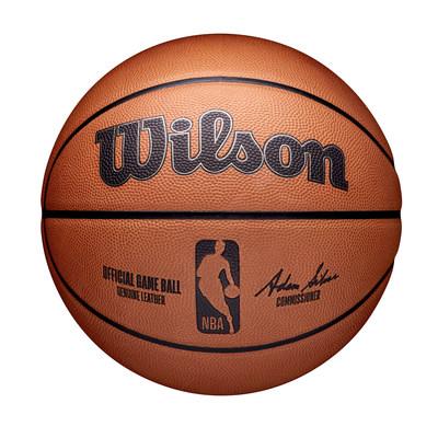 A nova bola de jogo oficial da NBA da Wilson