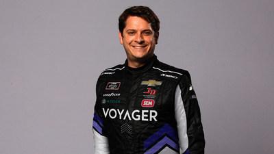 NASCAR Xfinity Series Driver Landon Cassill (CNW Group/Voyager Digital (Canada) Ltd.)