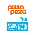 Savourez une pointe de pizza et soutenez les producteurs canadiens : Pizza Pizza adopte le logo de la vache bleue