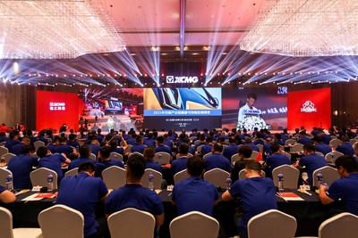 XCMG publie son rapport de 2021 sur le développement durable au sein de la chaîne industrielle du levage (Chine). (PRNewsfoto/XCMG)